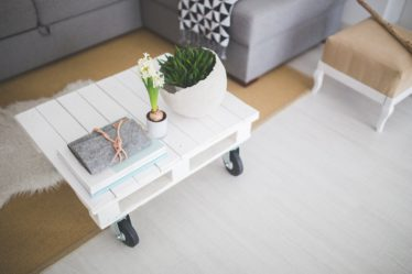 Table, Table Basse, Blanc, Industial, Scandinaves